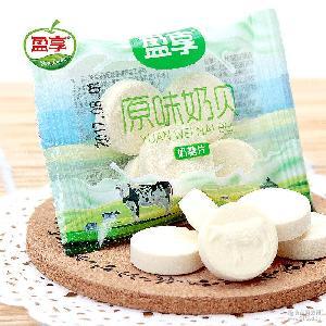 乳片独立小包装计量散装称重 内蒙古特产零食 盈享牛奶片奶贝6KG