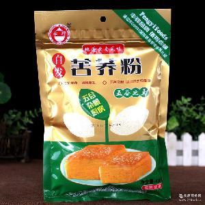 自发苦荞面粉430克丰驿云南特产五谷杂粮厨房馒头粉面粉厂家直供