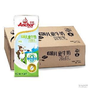 新西兰原装进口牛奶 Anchor安佳儿童牛奶调制乳 190ml*27盒/箱