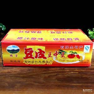石屏豆腐皮12斤/整箱 云南特产腐竹豆腐干素肉油豆皮批发