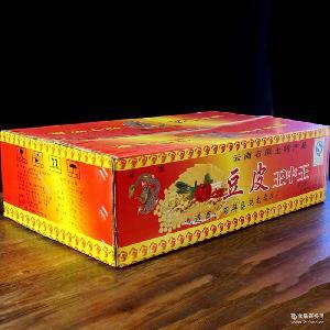 石屏豆腐皮 云南土特产王中王小吃豆制品腐竹豆腐干批发 整箱15斤