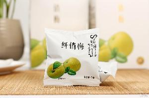 整箱120袋 尚之康品纤俏梅 蜜饯话梅厂家供应批发 益品生物 91g