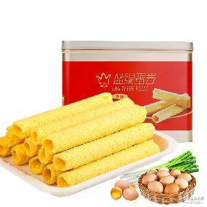 香港进口食品蛋卷饼干传统糕点休闲零食小吃礼盒装微商热销批发