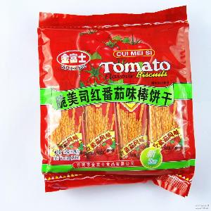 香脆好吃 零单批发 以量取胜 128g金富士脆美司棒饼干 超市