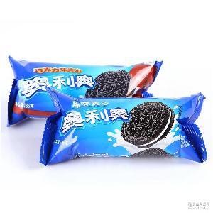 巧克力味 批发超市 58g卡夫奥利奥趣多多饼干 夹心饼干