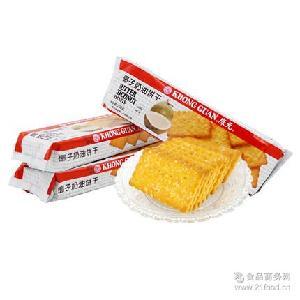 酥脆可口 整件批发超市 早餐* 200g康元椰子奶油饼干 清真饼干