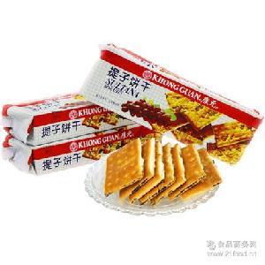 酥脆可口 清真饼干 200g康元提子饼干 整件批发超市 早餐*