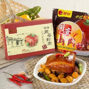 即食酱卤肉类零食品批发 银祥同安封肉12盒一箱 浪淘沙肉制品