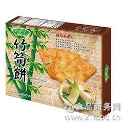 竹叶堂竹笋饼270克 台湾食品 台湾进口食品特色风味竹筍饼