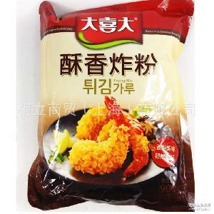 酥香炸粉 轰炸大鱿鱼 900g韩国炸鸡粉 大喜大 鸡米花用裹粉