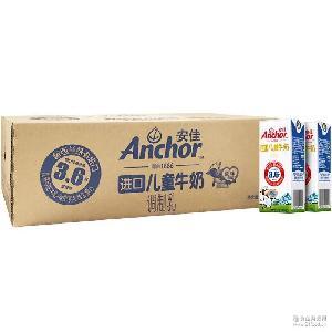 Anchor 190m*27 家庭装 安佳进口儿童牛奶 新西兰进口