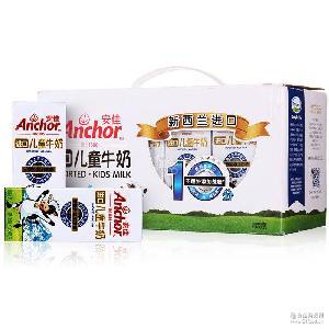 家庭礼盒装 新西兰进口 安佳儿童牛奶190ml*12