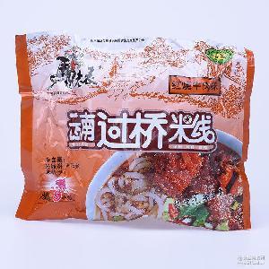 清真特产食品方便米线 马老表云南过桥米线106g 多味速食泡面批发