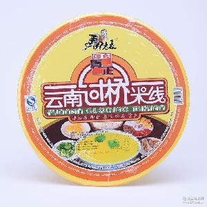 云南特产美食方便面泡面清真食品批发 马老表真正过桥米线150g