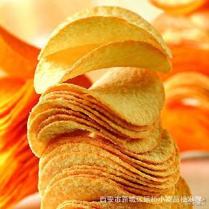 膨化食品红薯片 鲜虾条 上好佳田园薯片 40X20 薯片 鲜虾片