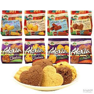 杰美诺巧克力曲奇香酥饼干150g 罗马尼亚进口可可香草蔓越莓零食