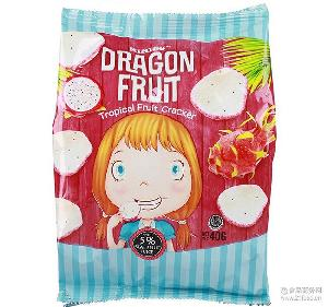新货 印尼进口热带水果薯片40g*36包 咪米咕 进口休闲食品 膨化