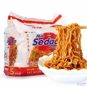 喜达Sedaap原味捞面干拌面泡面方便面印尼进口食品91g*5包批发