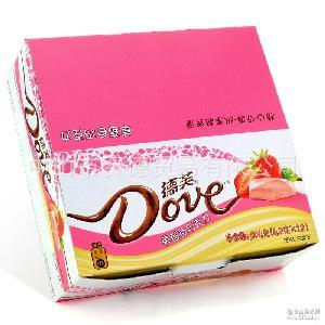 德芙巧克力草莓 零食批发 婚庆喜糖礼物 抹茶曲奇水果白巧克力42g