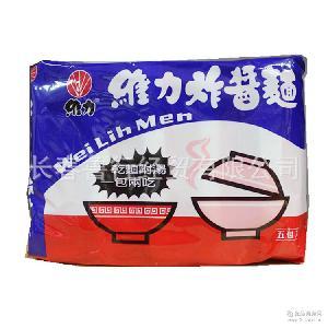 台湾进口维力炸酱面速食干拌面速食面5连包450g