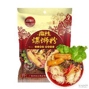 螺霸王螺蛳粉麻辣味315G正宗广西柳州特产螺狮粉方便面水煮米线