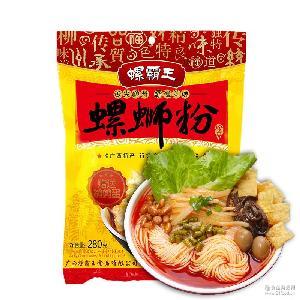 包邮 螺霸王螺蛳粉正宗广西柳州螺狮粉280G辣方便面米线速食米粉
