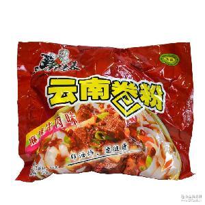 马老表卷粉麻辣味90g袋装云南特产清真美食 速食米粉方便小吃