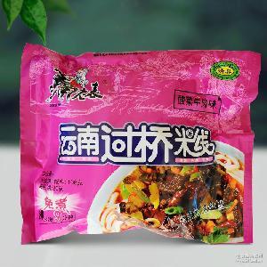 马老表过桥米线 云南特产 方便米线酸辣牛肉味106克 8种口味选择