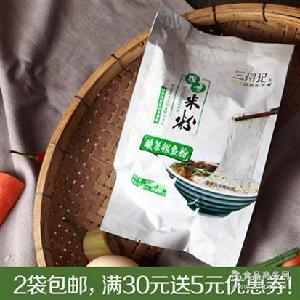 三浔记 酸菜银鱼罗秀米粉 方便面袋装手工米线米粉干特产 包邮