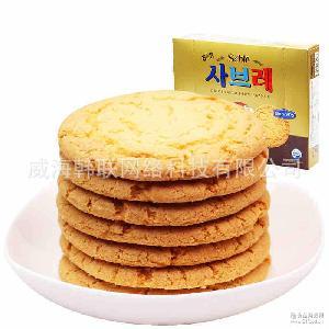 代餐饼干 韩国进口海太法兰西酥饼315g*12 办公室休闲零食