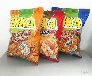 马来西亚进口食品碧咔香脆虾条多种口味70g儿童休闲膨化零食批发