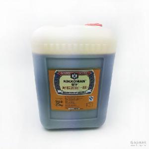 龟甲万万字酱油鲜醇一级天然酿造生抽日本韩国料理餐饮*25kg