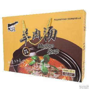 礼盒装羊肉汤粉丝 厂家直销可供应微商 速食方便米粉桶装