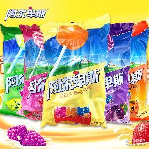 11种口味200g袋装水果糖果棒棒糖 不凡帝阿尔卑斯棒棒糖20支