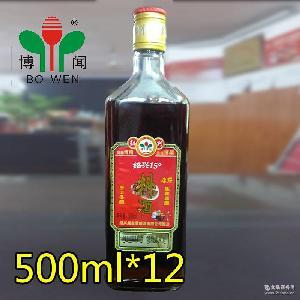 陈年原酿 手工冬酿 绍兴料酒 博闻绍兴15度料酒500ml*12/箱