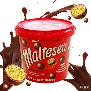 原装澳洲进口麦丽素Maltesers麦提莎牛奶夹心巧克力朱古力 520g
