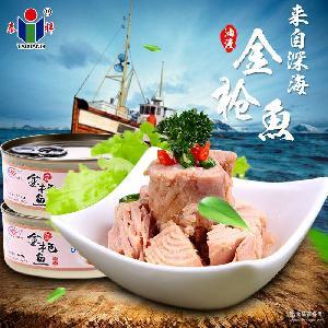 油浸即食低脂海鲜罐头吞拿鱼沙拉食材140g 泰祥汇英 金枪鱼罐头