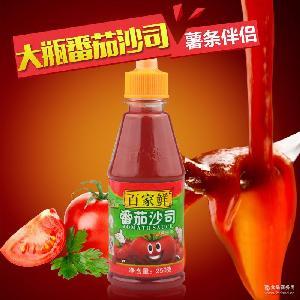 寿司番茄酱百家鲜番茄酱250g番茄沙司番茄膏亨氏 烘焙原料番茄酱