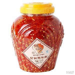 坛坛乡 剁辣椒2.3kg拌饭酱蒸鱼头剁椒湖南特产辣椒酱调料