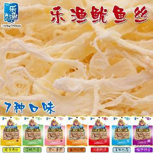 大连乐渔东霖鱿鱼丝12g两元品商超*烤丝海鲜零食海产批发