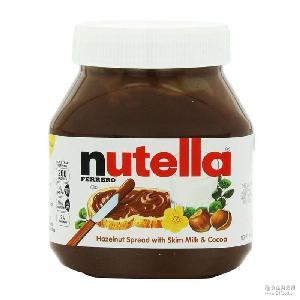费列罗Nutella能多益可可酱750加量950g克榛子果巧克力酱