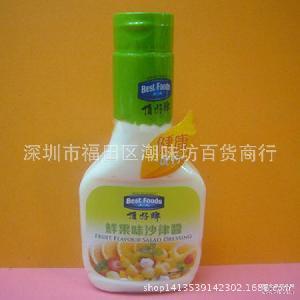 香港进口顶好牌鲜果味沙律酱250ml*12瓶/箱
