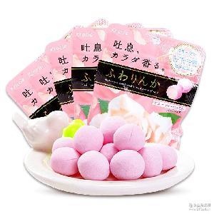 日本进口嘉那宝Kracie神奇玫瑰花香体糖32g/袋装 糖果小吃零食品