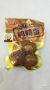 卤味/泡椒味鹌鹑蛋 口口丫 一箱10斤