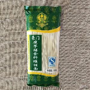 豪门魔芋膳食纤维挂面400克无糖食品厂家直供批发五谷杂粮