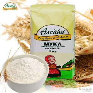 烘培原料 多用途小麦粉 俄罗斯原装进口面粉 2000g/袋 艾利客
