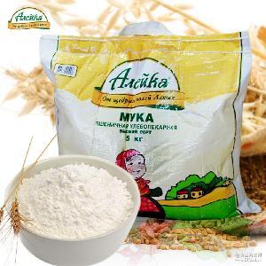 多用途小麦粉 面粉 5kg/袋 烘培原料 艾利客 俄罗斯原装进口面粉
