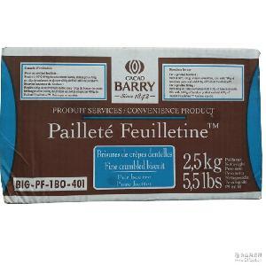 一盒装 木糠杯蛋糕底围边蛋糕巧克力饼干碎片 法国可可百利薄脆片