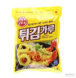 韩国进口不倒翁香酥炸粉1Kg炸虾炸鸡炸蔬菜海鲜kfc鸡米花