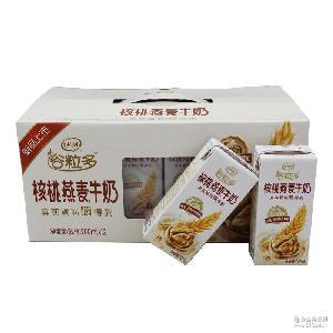 早餐牛奶 整箱 伊利谷粒多核桃燕麦牛奶200ml*12盒